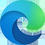 edge browser logo small